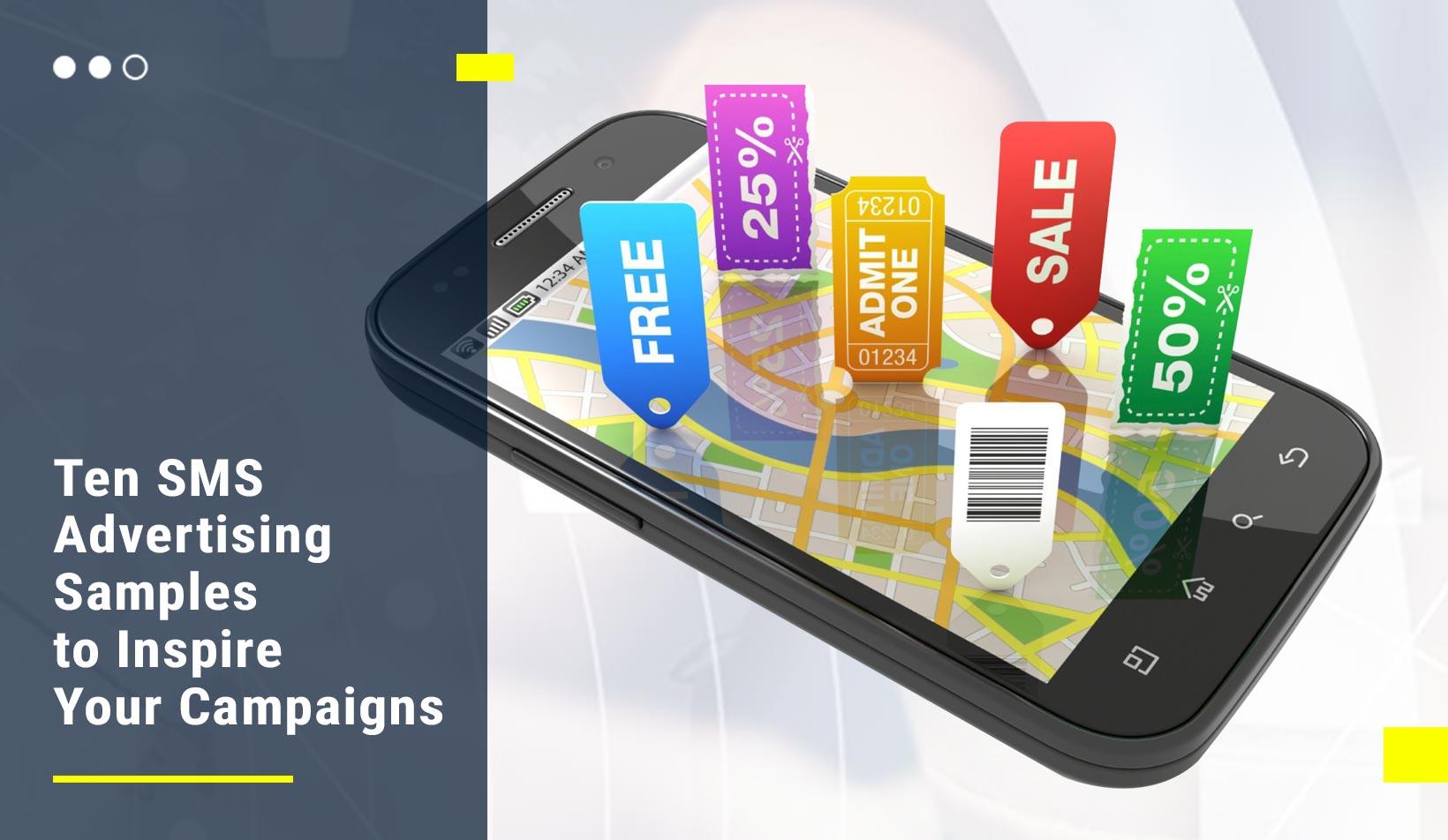 SMS Advertising Samples